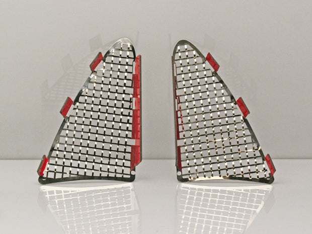 052005 C7 Corvette Tail Light Grille american car craft