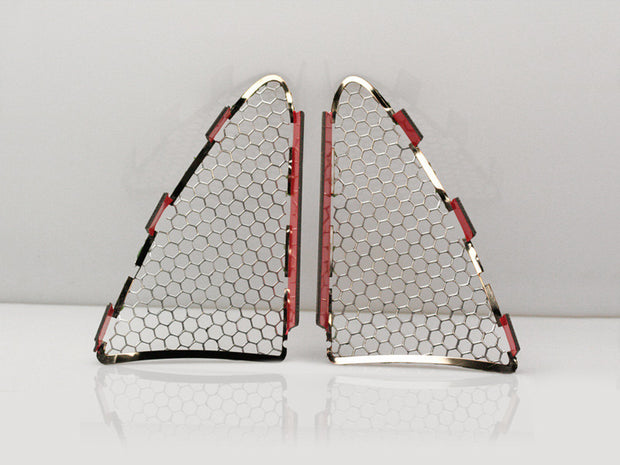 052006 c7 corvette matrix series tail light grilles american car craft