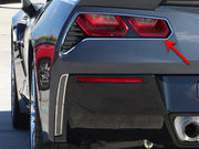 052019 tail light rings from american car craft for the C7 Corvette