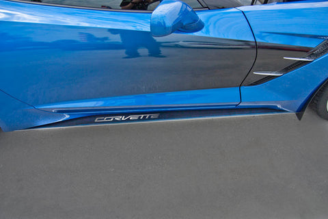 052048 C7 Corvette Side Skirts