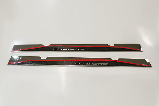052048 Carbon Fiber Side Skirts for the C7 Corvette