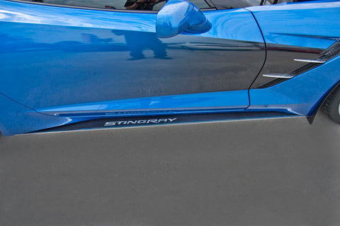 052049 C7 Corvette Side Skirts for the C7 Corvette