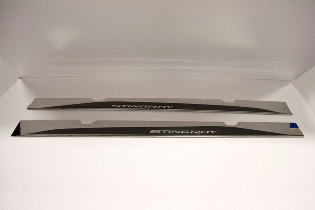 052049 side skirts for the c7 corvette stingray