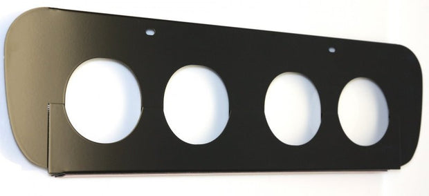 052053 Black C7 Corvette Exhaust Filler Plate from american car craft
