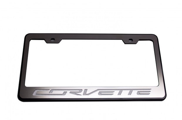 052083 license plate frame for the c7 corvette stingray