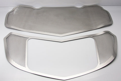053006 C7 Corvette  Peforated Hood Plate