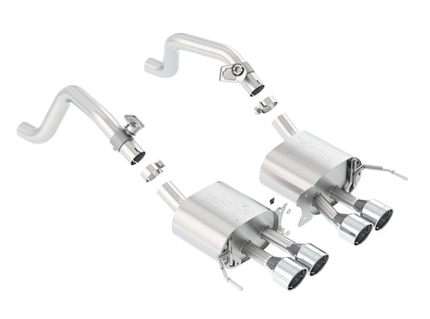 11910 Borla C7 Corvette Grand Sport Standard Exhaust