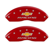 13007SBRCRD MGP Chevy Racing Caliper Covers - Red - C5 Corvette