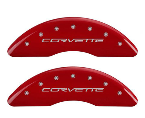 13083SCV6RD mgp caliper cover - C6 Corvette grand sport - Gloss Red