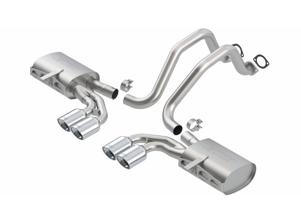 140426 C5 Corvette Borla Touring Exhaust