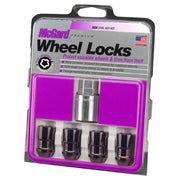 24026 corvette Black lug nut wheel locks