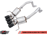 3015-43143 AWE C7 Corvette Grand Sport Axle Back Exhaust - Touring edition