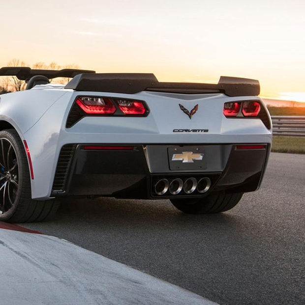 45-8-025 ACS Carbon Fiber Spoiler - C7 Corvette Stingray,. Grand Sport and Z06