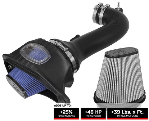 52-74202-1 afe magnum cold air intake for the c7 corvette z06