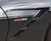 6 in Z51 Chrome Emblem - C7 Corvette