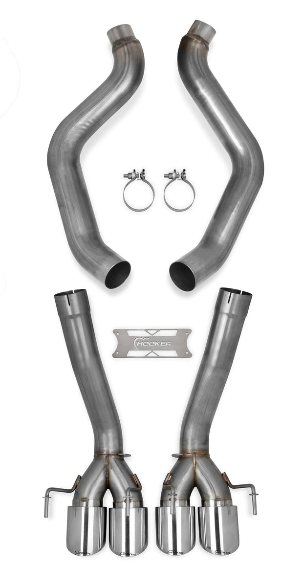 70401314-rhkr c6 corvette hooker straight pipes