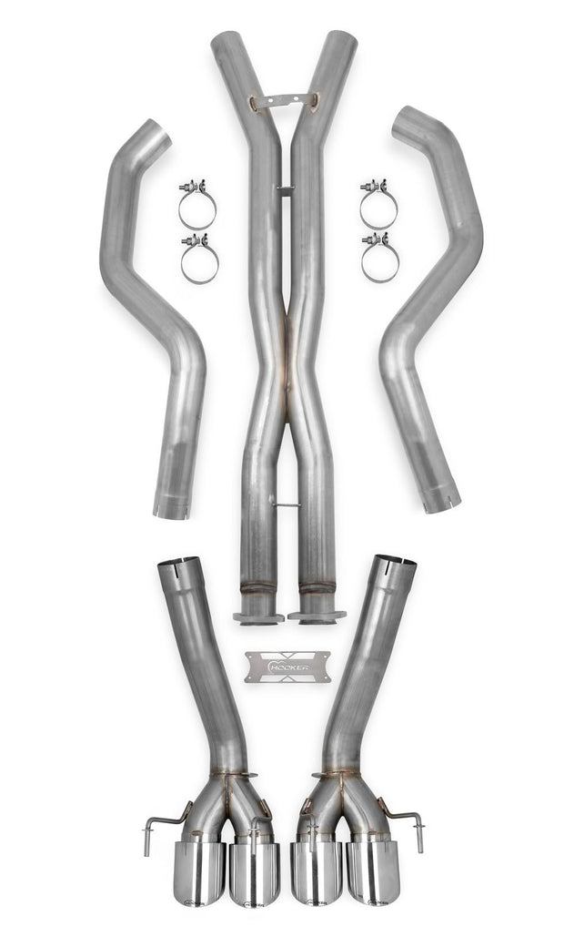 70501334-rhkr c6 corvette hooker straight pipes