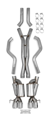 70501336-rhkr c6 corvette hooker race exhaust