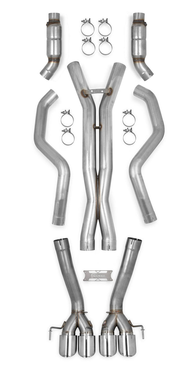 70501337-rhkr c6 corvette z06 straight pipes with cats