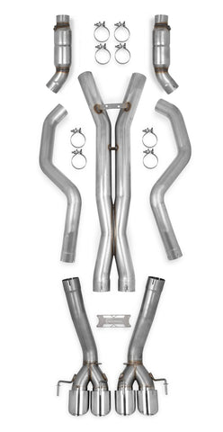 70501337-rhkr c6 corvette straight pipes with cats