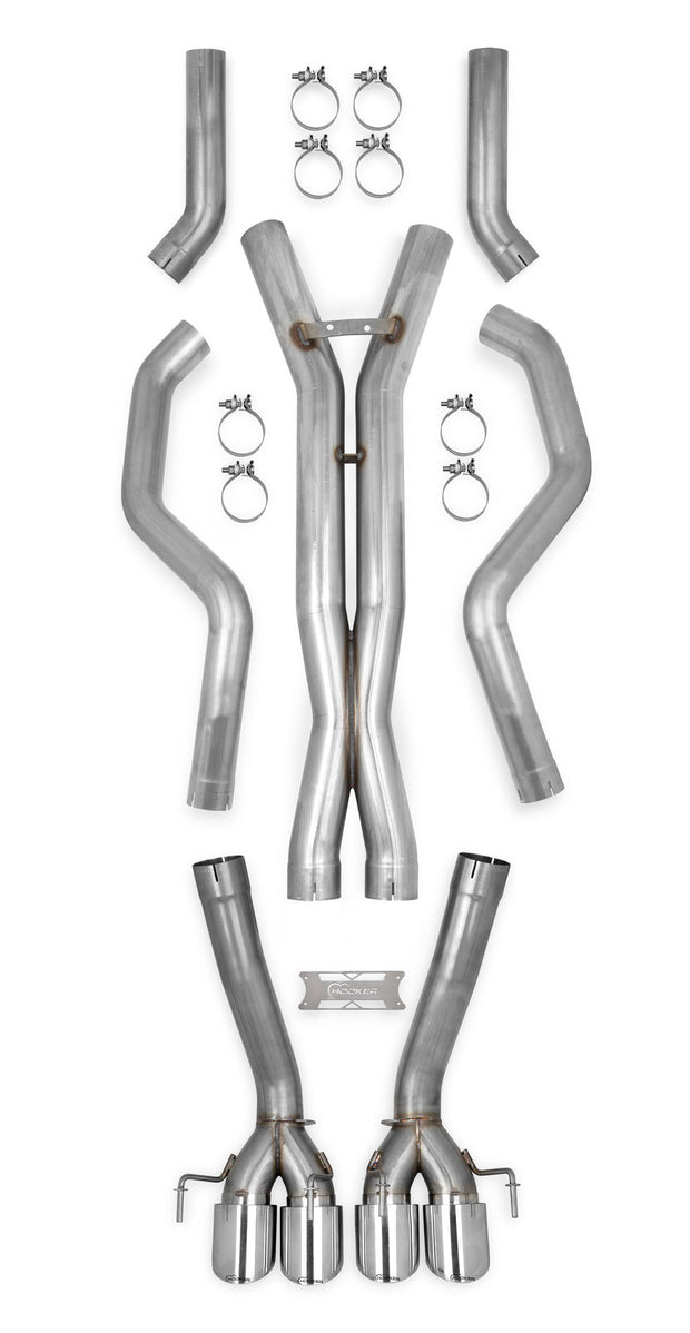 70501338-rhkr c6 corvette z06 hooker straight pipes