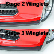 C7 Corvette Z06 Stage 3 Front Winglets / diffusers