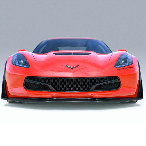 Acs Composite Five1 front grille - C7 Corvette