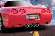 SLP Loudmouth C5 Corvette Straight Pipes