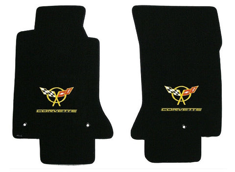 C5 Corvete Lloyd Mats Double Logo Velourtex
