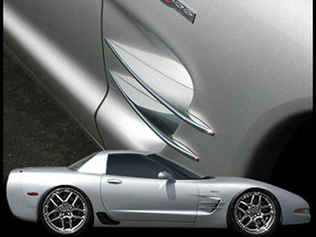 West Coast Corvette >> C5 Corvette West Coast Corvette Chrome Vent Spears
