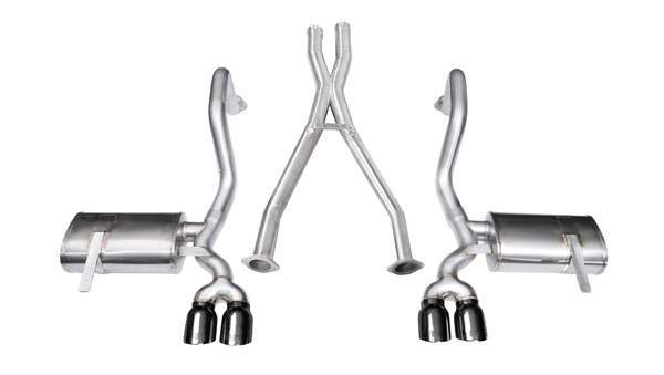 C5 Corvette 14114Blk Corsa Xtreme Cat Back Exhaust
