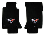 C5 Corvette Lloyd Mats Floor Mats - Single Logo - Velourtex