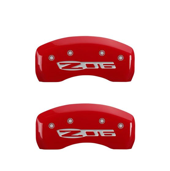 C5 Corvette Red Caliper Cover