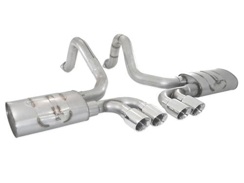 C5 Corvette Stainless Works Exhaust Turbo Muffler
