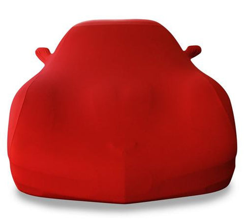 C5 Corvette Red Ultraguard Stretch Satin Car Cover