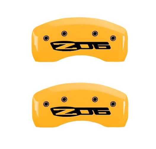 C5 Corvette Z06 Yellow caliper cover