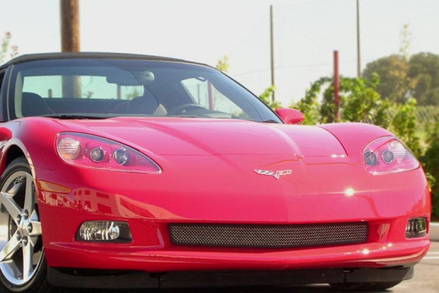C6 Corvette 3 piece combo grilles and screens