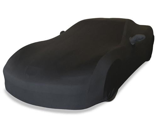 C6 Corvette Black Ultraguard Stretch Satin Car Cover
