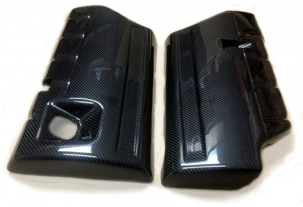 C6 Corvette Carbon Fiber Fuel Rail Covers