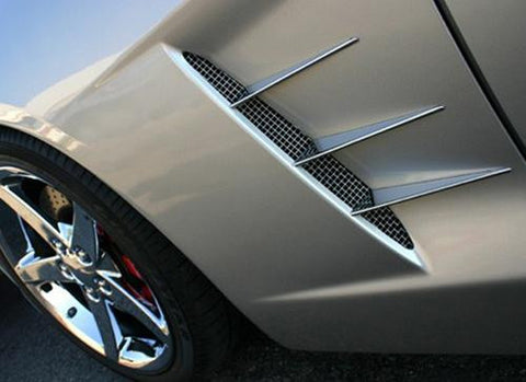 C6 Corvette Chrome Vent Spears