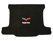 C6 Corvette Double Logo Cargo mat velourtex