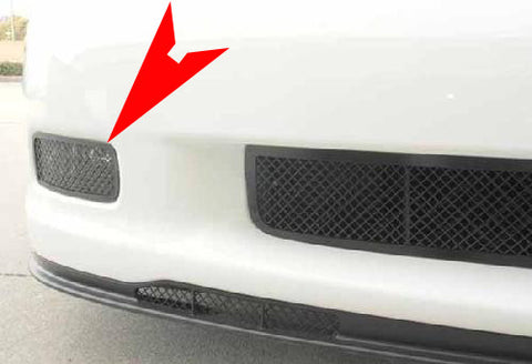 C6 Corvette Grand Sport Driving Light Covers