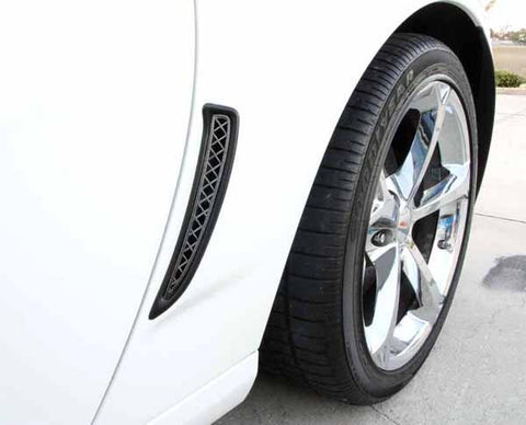 C6 Corvette Z06 Rear Fender Grilles