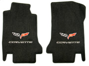 C6 Corvette Lloyd Mats Floor Mats - Double Logo - Ultimat (2008-2012)