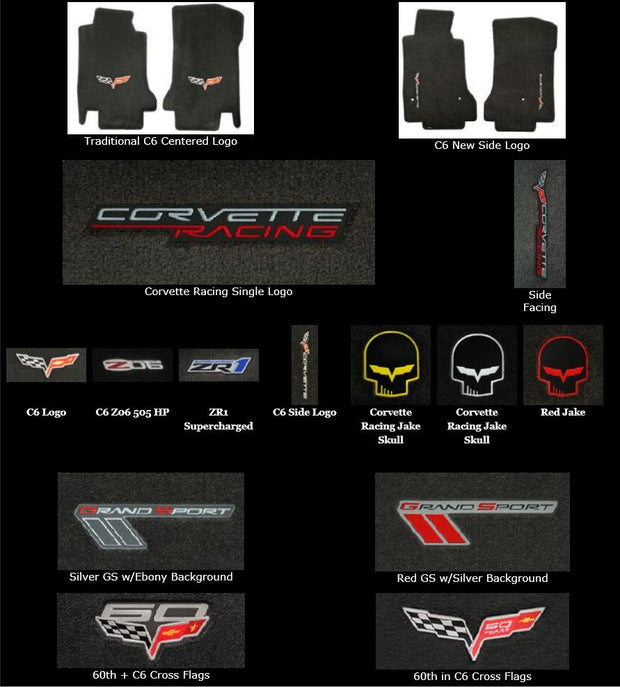 c6 corvette ultimats single logo