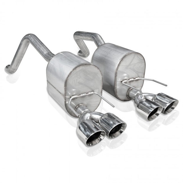 C6 Corvette Stainless Works Axle Back Exhaust