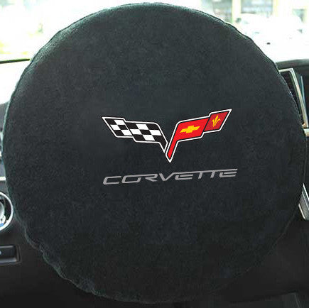 C6 Corvette Steering Wheel Cover Seat Armour