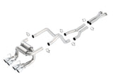C6 Corvette Z06 Borla ATAK 140422 Cat Back Exhaust (2006 - 2011)