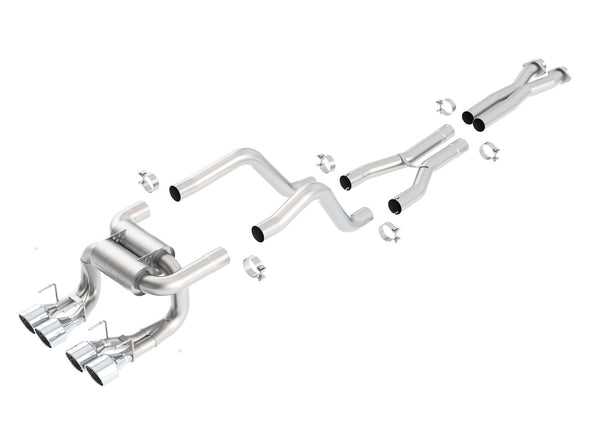 C6 Corvette Borla ATAK 140422 Cat Back Exhaust (2006