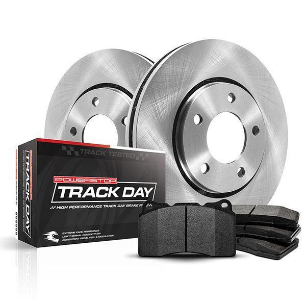 C7 Corvette Powerstop HDPE Rotors and Brake Pads